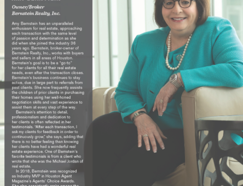 Houston Agent Magazine – Who's Who in Residential Real Estate 2019