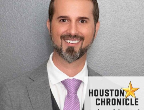 Houston Chronicle Realtor of the Week – Trent Johnson